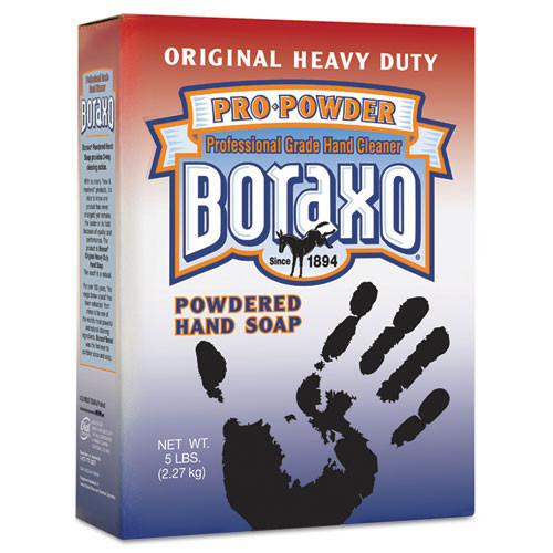 Boraxo DIA02203CT powder handsoap 5lb boxes case of 10 boxes