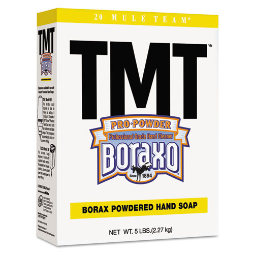 Dial DIA02561CT TMT powder handsoap with Borax 5lb boxes case of 10 boxes