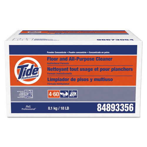Tide floor and all purpose cleaner 18lb. box