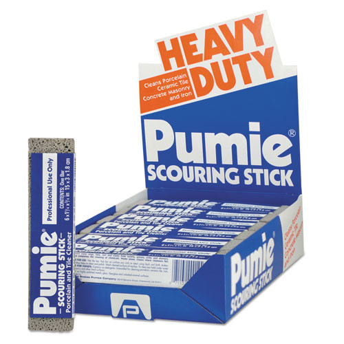 Pumie scouring stick bathroom cleaner case of 12 sticks replaces pum12 us pumice upm12