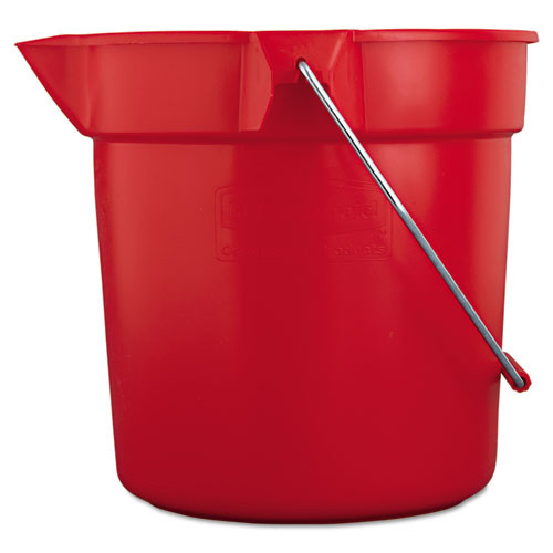 Rubbermaid 2963red Brute bucket red 10 quart
