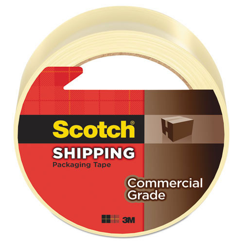 3M 371 Scotch box sealing tape clear MMM3750260CR 2 inches x 60 yards 3.1 mil one roll replaces MCO3750260CR