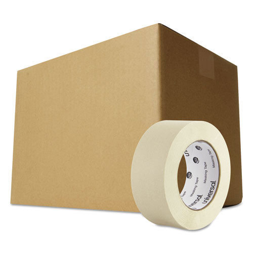 Masking tape 2 inch x 60yd 24 cs replaces uvs51302 universal unv51302ct