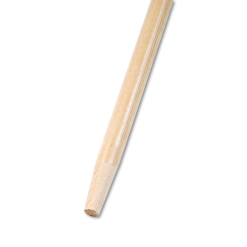 Boardwalk BWK125 push broom handle tapered end wood handle 60 inches x 1.125 inch diameter replaces bru125