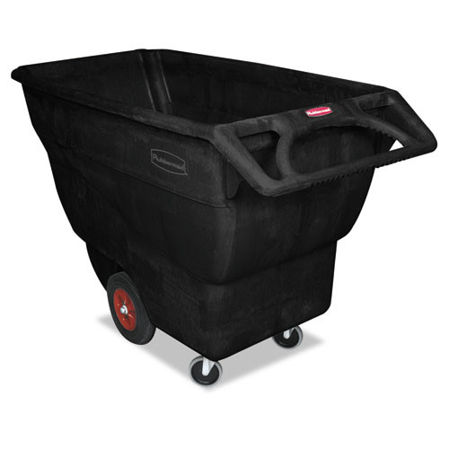 Rubbermaid 1013bla tilt truck 0.75 cubic yard 1000 lb. black