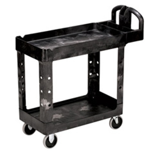 Rubbermaid 450088bla utility cart 500 lbs 17x38 black replaces rcp450088bla rcp450088bk