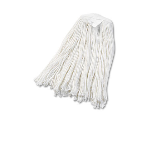 Boardwalk BWK2020RCT rayon mop heads number 20 1 inch headband case of 12 replaces UNS2024C
