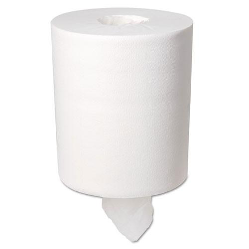 Softpull GPC28124 centerpull paper hand towels 1 ply premium regular capacity 1 ply 15x7.8 white 320 sheets per roll case of 6 rolls