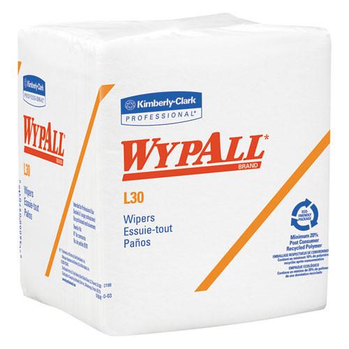 Wypall kcc05812 L30 economizer wiper 12.5x14.4 white case of 1080 wipes