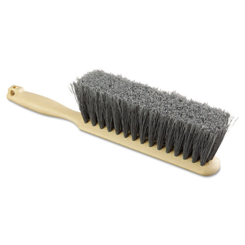 Boardwalk BWK5408 counter brush gray flagged plastic bristles 13 inch replaces bru5408