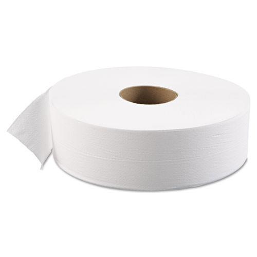 Boardwalk BWK6103 jumbo bathroom tissue 12 inch 1 ply 4000 foot 3.625x12 case of 6 rolls