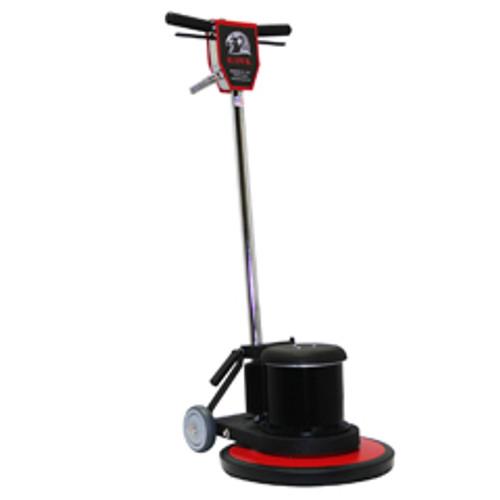 Hawk Floor Buffer Scrubber Machine with pad holder 17 inch HP1517Hd 1.5 Hp 175 rpm F0009