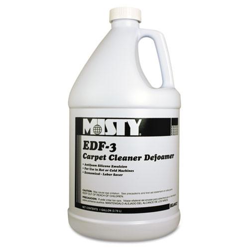 Carpet defoamer Misty Edf 3 one gallon bottles case of 4 replaces amrr8274 amrep AMR1038773