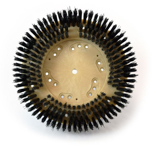 Floor Scrubber Brush .025 Nylon 812913g100 13 Inch Block 4.84 Inch Center  Hole Fits Clarke
