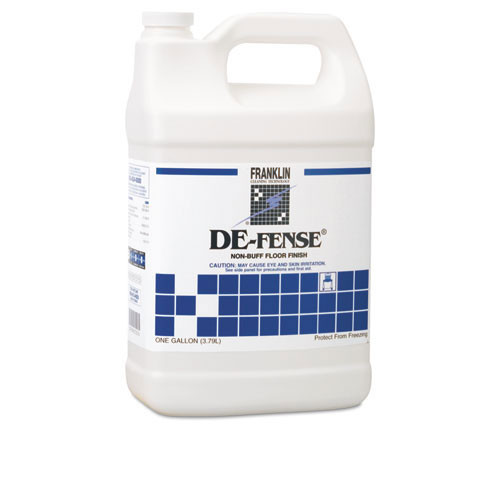 Franklin fklf135022 defense floor finish 17 per cent solids one gallon size case of 4 bottles replaces frkf135022