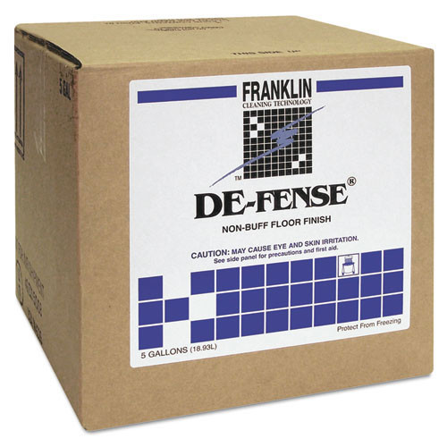 Franklin fklf135025 defense floor finish 17 per cent solids 5 gallon cube replaces frkf135025