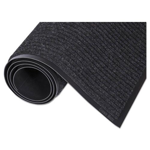 Door mat needle rib indoor wiper scraper mat 48 x 72 charcoal replaces cronr46cha Crown cwnnr0046ch