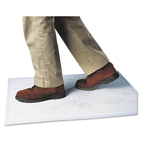 Door mat walk n clean 31.5x25.5 white 60 layer replaces crowc3125swhi Crown cwnwc3125sw