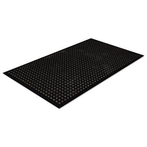 Door mat safewalk light 3 x 5 black replaces crowsct35bla Crown cwnwsct35bk