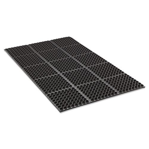 Door mat safewalk heavy duty .875 greaseproof 3x5 replaces crowstf35bla Crown cwnwstf35bk