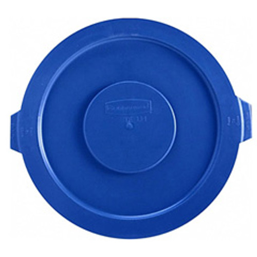 Rubbermaid 2631blu trash can lid for round Brute container 32 gallon blue replaces rcp2631blu rcp263100be