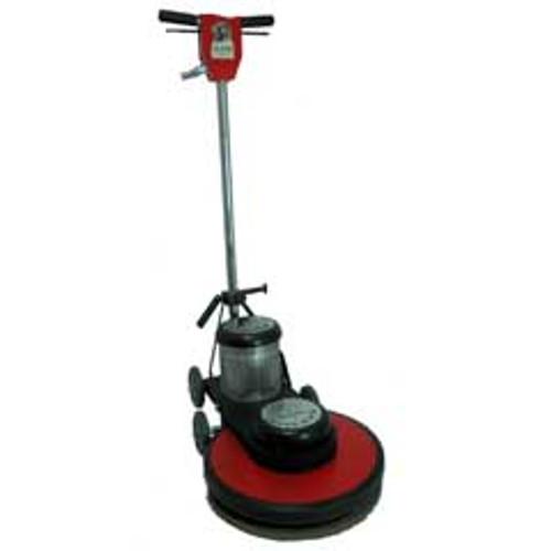Hawk Floor Buffer Burnisher Machine High Speed 17 inch HP15172M 1.5 Hp 2000 rpm includes pad holder F200017