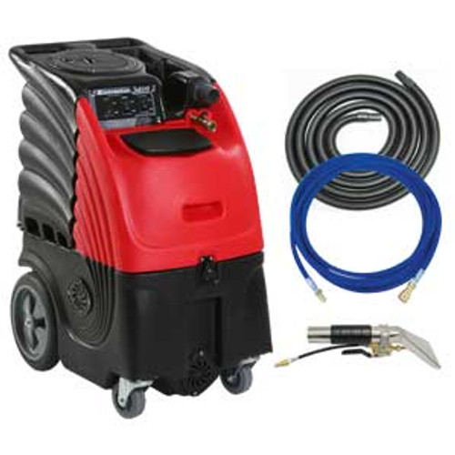 Sandia Sniper6 carpet extractor 864000h auto detail upholstery cleaner with heater 6 gallon canister with hand tool hose kit 3 stage motor 100psi pump