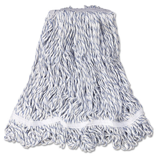 Rubbermaid a412 Web Foot finish mop medium 1 inch headband case of 6