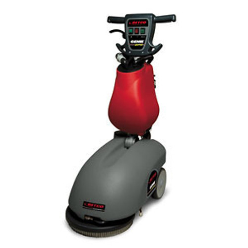 Betco Genie B APS floor scrubber E8303900 14 inch disc style brush 3 gallon battery powered with on board charger