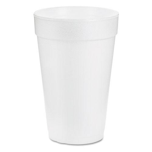 Foam cups 14oz cup case of 1000 dart dcc14j16