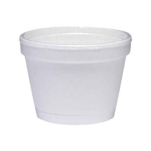 Foam containers 4oz squat container case of 1000 dart dcc4j6