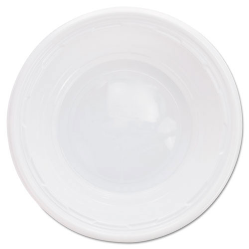 Impact plastic dinnerware 5 to 6oz bowl 8 125s dart dcc5bwwf
