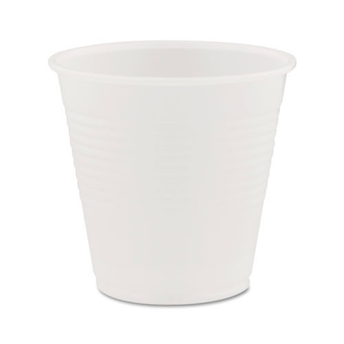 Conex translucent cold cups 5oz cup case of 2500 replaces Dcc5n25, Dart DCCY5CT