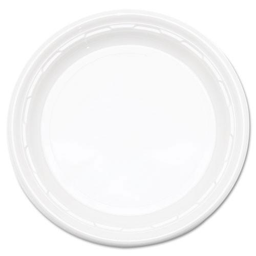 Impact plastic dinnerware 6 inch plate 8 125s dart dcc6pwf