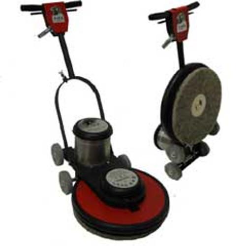 Hawk Floor Buffer Burnisher Machine High Speed 15 inch HCF15151800 1.5 Hp 1800 rpm includes pad holder F180015CF