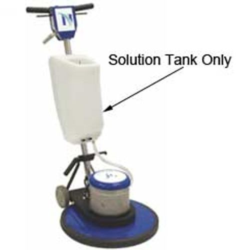 NaceCare A0001.1 floor buffer shampoo tank four gallon for NA17SS NA20SS and NA20DS