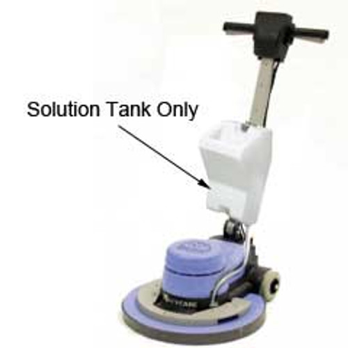 NaceCare 606084 floor buffer shampoo tank two gallon for NS17 and NS20