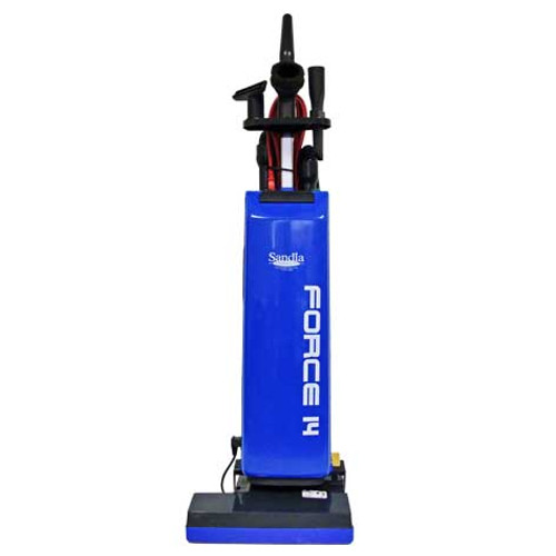 Sandia force14 601000bags upright vacuum with onboard tools two motor 14 inch