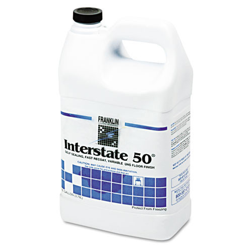 Franklin fklf195022ct interstate50 floor finish 20 per cent solids one gallon size case of 4 bottles replaces frkf195022