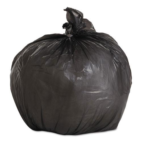 Boardwalk BWK1717L 4 gallon trash bags case of 1000 black 17x17 linear low .35 mil regular strength coreless rolls