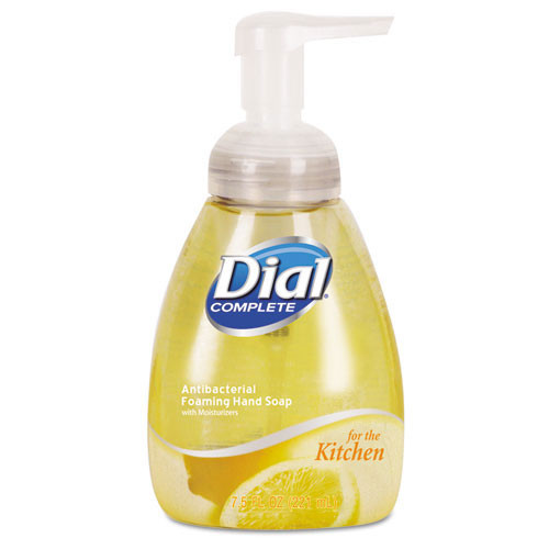 Dial Complete antibacterial foaming hand wash citrus scent 7.5 pump bottle case of 8 Dia06001CT