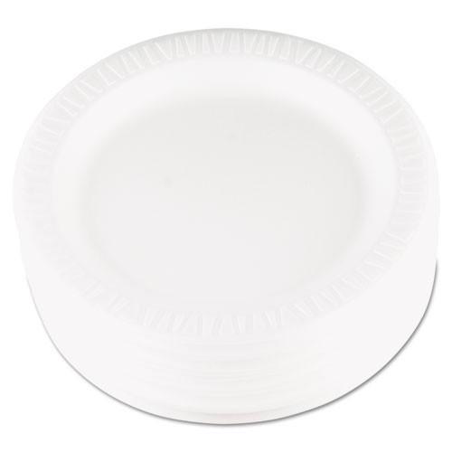 Quiet classic laminated foam dinnerware 9 inch plate case of 500 dart dcc9pwqr