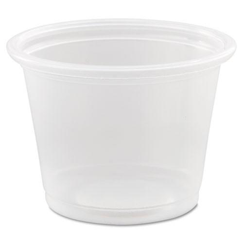 Conex Complements portion cups clear polypropylene 1oz size case of 2500 Dart Dcc100pc