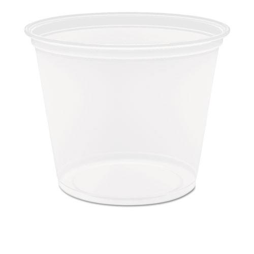 Conex Complements portion cups clear polypropylene 5.5oz size case of 2500 Dart Dcc550pc