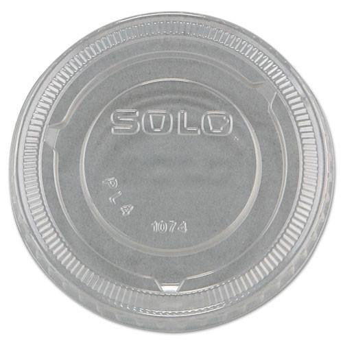 Conex DCCPL4N Complements portion cup lids clear fits 3.25oz to 9oz Conex cups case of 2500 replaces Dcc400pcl
