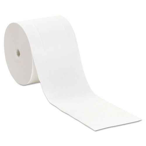 Georgia Pacific GPC19375 standard coreless roll bathroom tissue compact 2 ply 1000 sheets 3.85x4.05 4.75 inch diameter case of 36 rolls