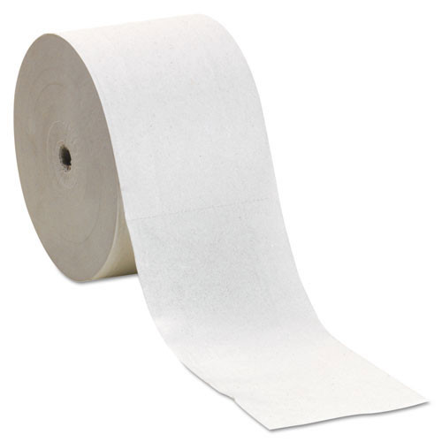 Georgia Pacific GPC19378 standard coreless roll bathroom tissue compact 2 ply 1500 sheets 3.85x4.05 5.75 inch diameter case of 18 rolls