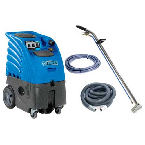 Sandia Sniper6 carpet extractor 862300h8009 with heater 6 gallon canister dual 2 stage vac motors adjustable 300psi pump