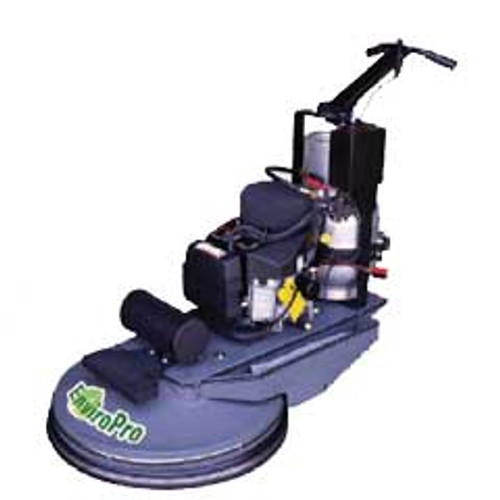 Eagle Propane Buffer Enviropro Weighted Wb27 Concrete Polishing Buffer Kawasaki 17 Hp Engine 27 inch With Pad Holder 1800 rpm 12 Volt Battery Starter 300116