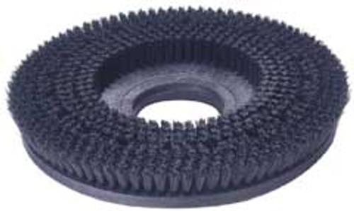 Mercury 1704 floor buffer scrub brush gray .028 polypropylene 15 inch block fits most 17 inch floor buffers includes universal clutch plate type b 92